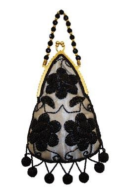 CUTE BRAND NEW Beaded Evening Bag FREE SHIPPING