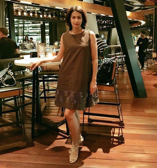 Lurik dress #lurikjogya by #ikatindonesia #didietmaulana #traditionalcloth #javaindonesia