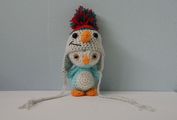 pingouin amigurumi au crochet fait main : Jeux, jouets par meme-croche