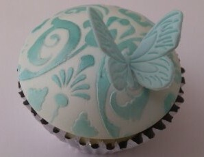 Butterfly cupcake by Cupcakes à la carte