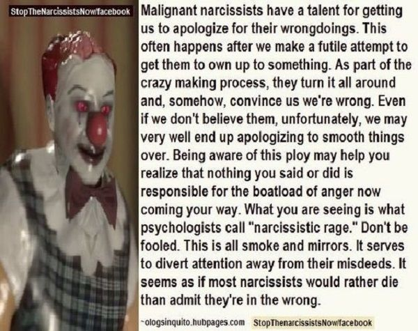 Spot on! Never again. #NPD  #BreakTheCycle ...even if it's just you breaking the cycle of accepting their  blames. Not a willing #Scapegoat