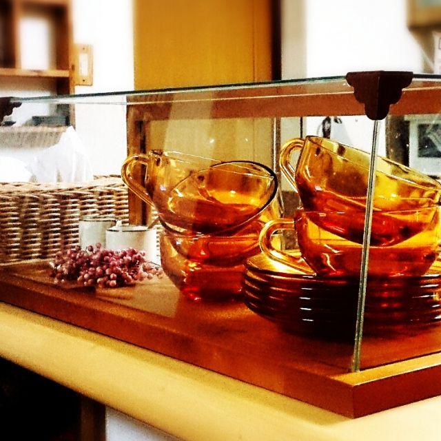 アンバーガラス/アンバーグラス…などのインテリア実例 - 2014-12-10 15:20:23 | RoomClip(ルームクリップ)