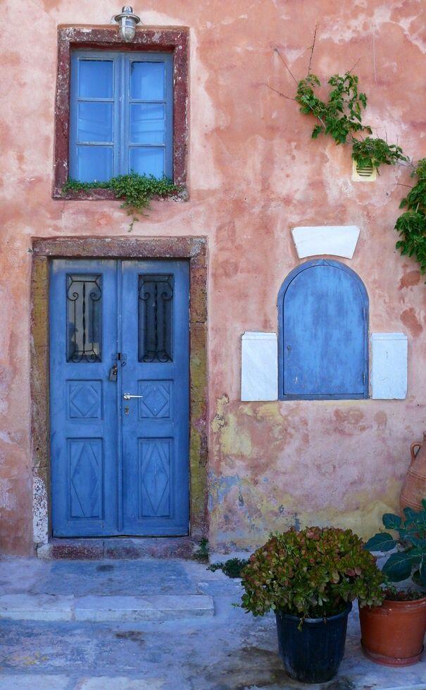Oia, Santorini, Greece | Greece/Griechenland/Grece/Hellas/History and Mythology | Pinterest | Oia santorini greece, Oia santorini and Doors