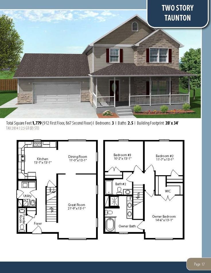 The taunton visit our website to learn more about our for Modified cape cod house plans