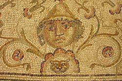 Écija: mosaico romano de la antigua Astigi.