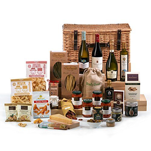 Hay Hampers Il Grande Italian Gourmet Food and Wine Hamper - FREE UK Delivery (Wicker Basket) No description (Barcode EAN = 5060238624619). http://www.comparestoreprices.co.uk/december-2016-6/hay-hampers-il-grande-italian-gourmet-food-and-wine-hamper--free-uk-delivery-wicker-basket-.asp