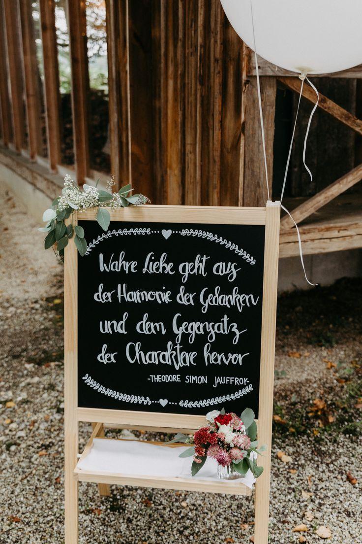 Eine Herbsthochzeit auf dem Land   – Hochzeitsdekoration I Wedding decoration