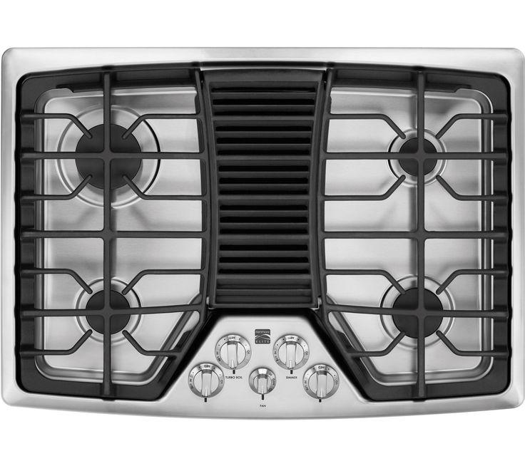 Kenmore elite 31113 31113 30 downdraft gas cooktop