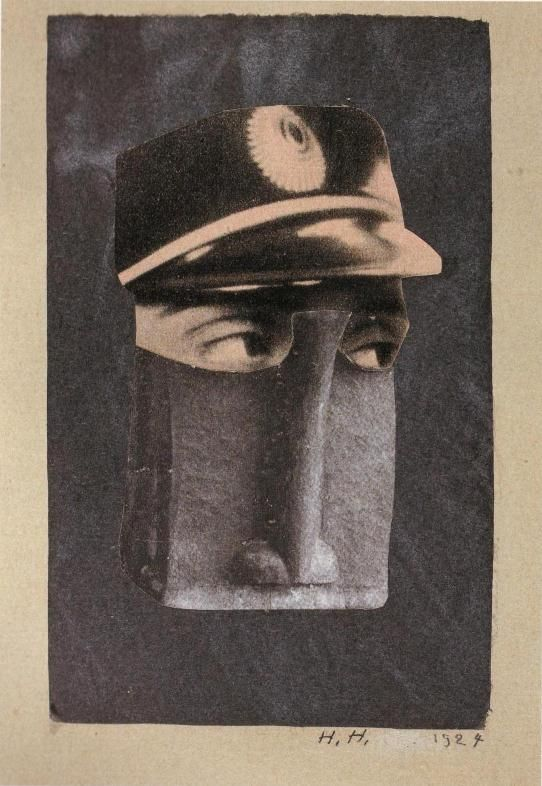 Hannah Höch, From the Ethnographic Museum, XI, 1924.