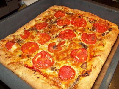 Κουζινοπαγίδα της Bana Barbi: Πίτσα με αφράτη ζύμη