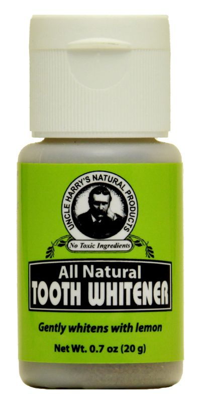 Tooth Whitener | Uncle Harry's Natural Products