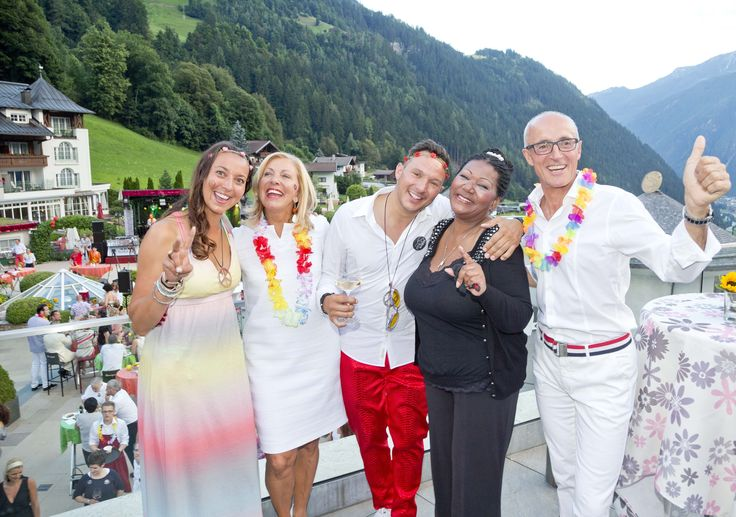 Boney M. and Familiy STOCK at STOCK resort, Tyrol, Austria. www.stock.at