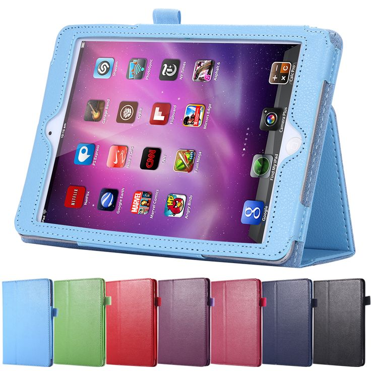 Book Leather Case for iPad 2 3 4 Tablets Accessories Business Cover for apple ipad2 ipad3 ipad4 Stand Display Bags Fashion Retro