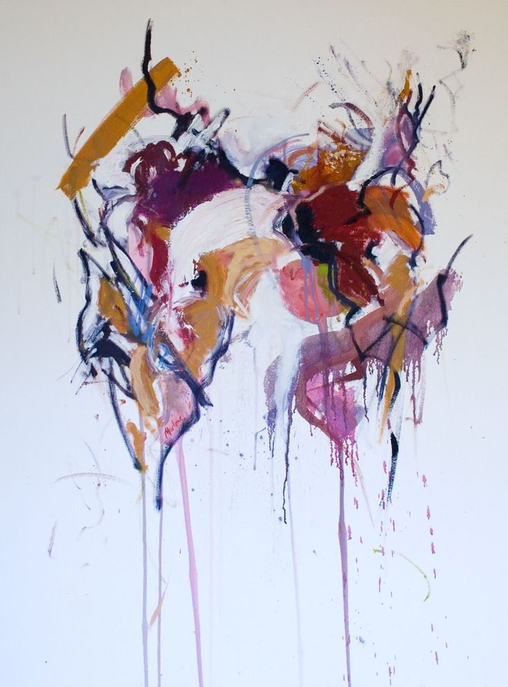"""within 40"""" x 30"""" $1800 oil on canvas by Marlene Lowden from the Unity series"""