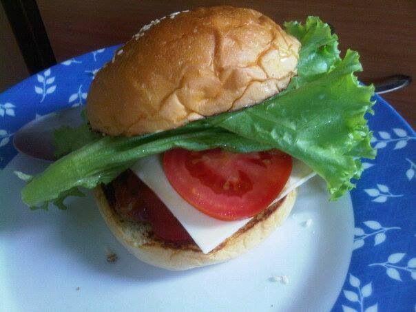 Simple Beef Burger