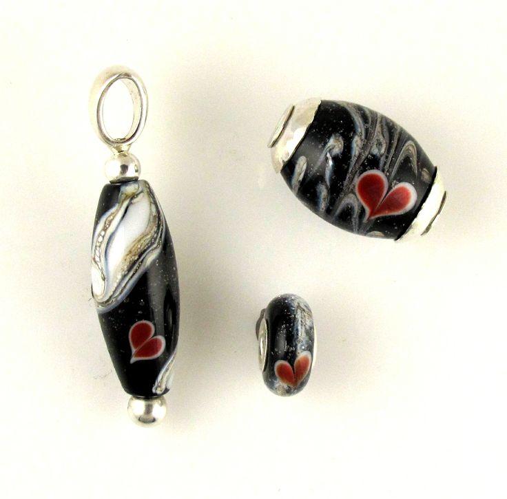 Cremation Bead Pendant, Chunky Cored Bead, and Big Hole ...