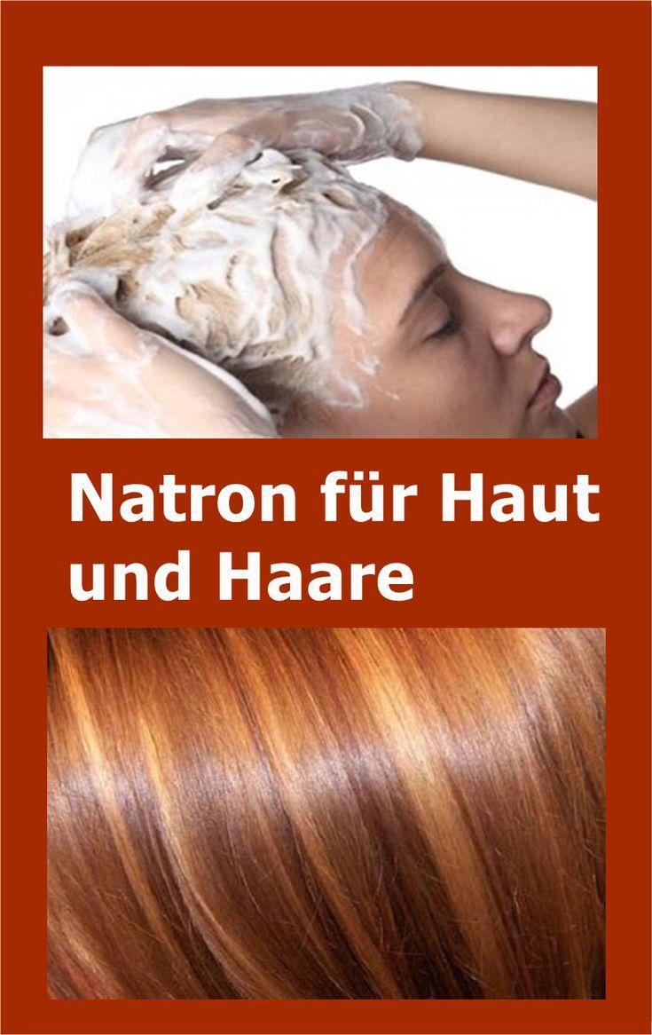 Natron für Haut und Haare