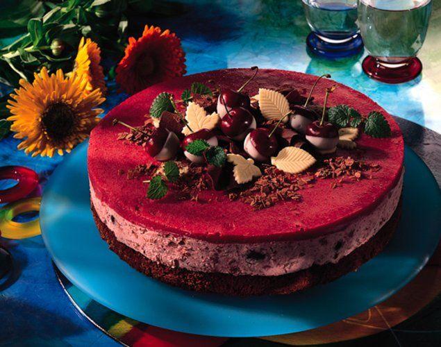 Kirsch-Sahne-Torte - Eine fruchtige Torte für die Kaffeetafel