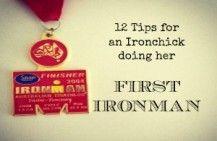 Tips for Ironchicks doing their first Ironman triathlon #ironman #triathlon