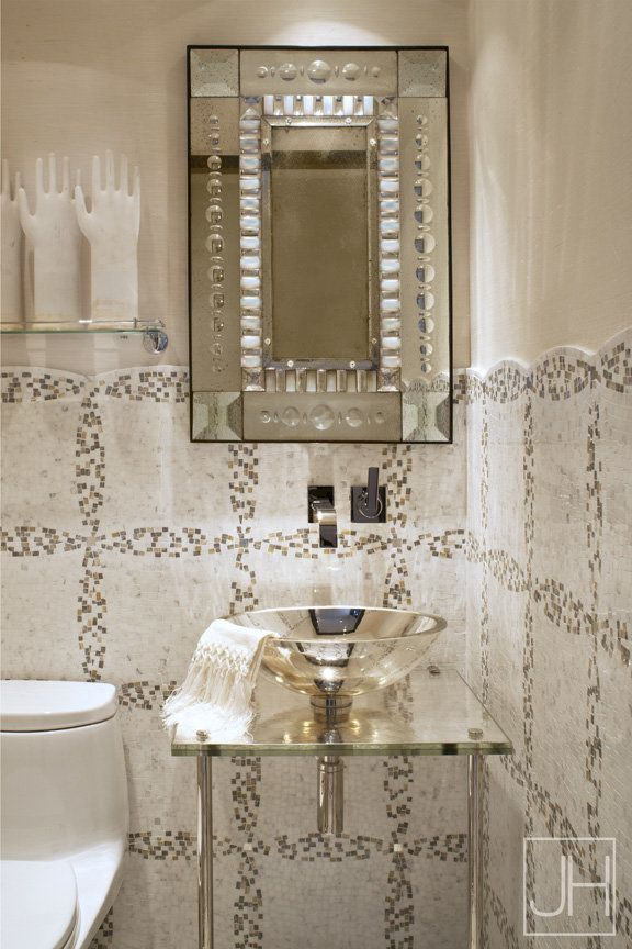 43 Best Images About Baths Powder Room Tile Jewel Boxes