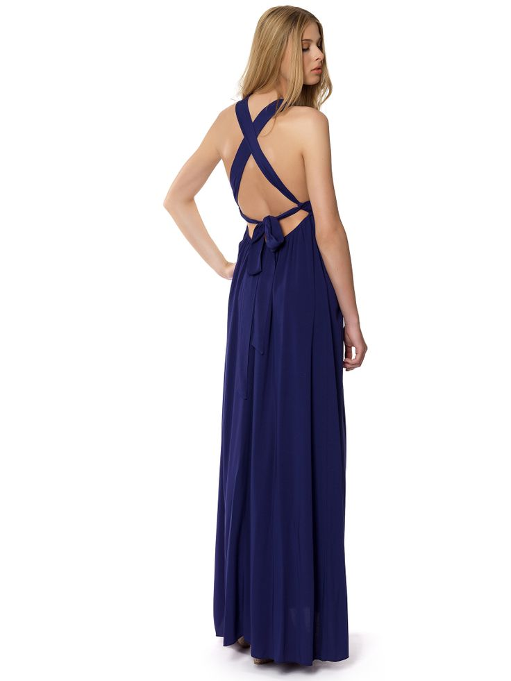 Regalinas open back maxi dress