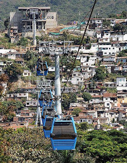 MÍO Cable ya se pasea por la ladera de #Cali