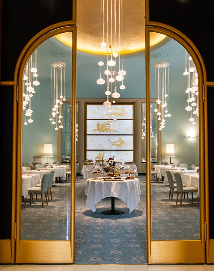 Turin palace hotel a torino living corriere restaurant for Hotel design torino