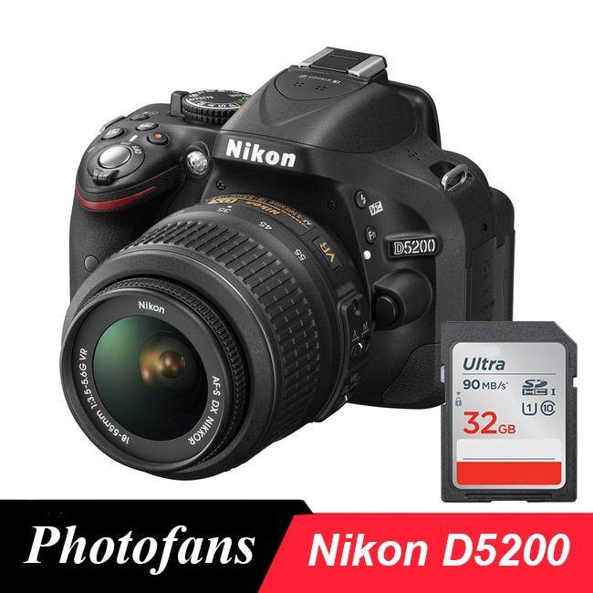 Nikon D5200 Dslr Camera With 18 55mm Lens Kits In 2020 Dslr Camera Nikon D5200 Nikon