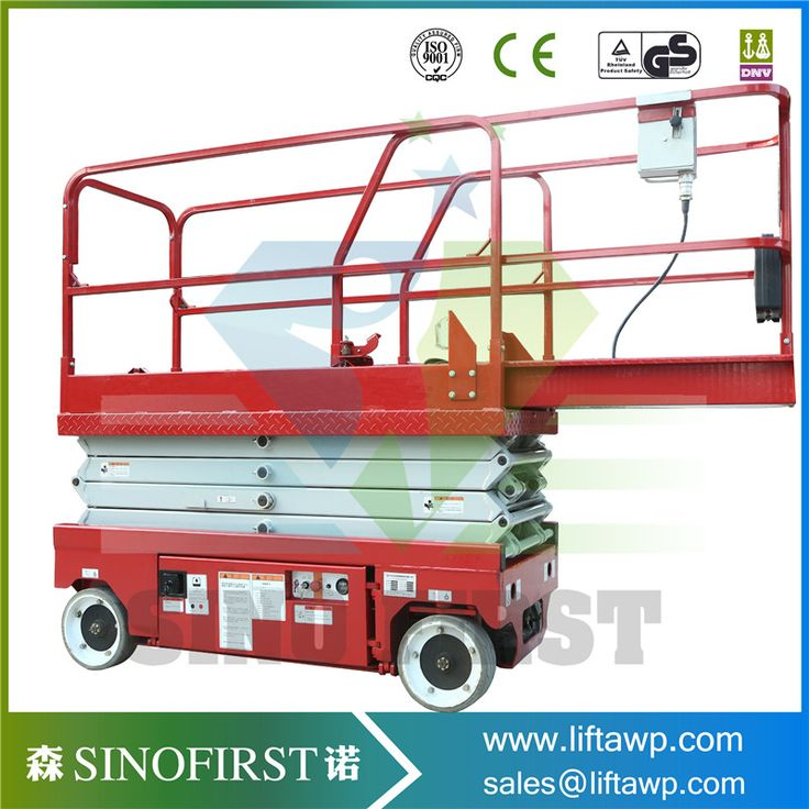 Factory use material handling mobile scissor lift for
