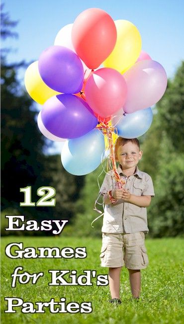 Popular, inexpensive and easy games for children's birthday parties from  ActivitiesForKids.com