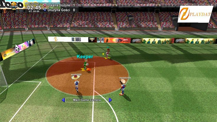 Korner 5 Online multiplayer football game in English for
