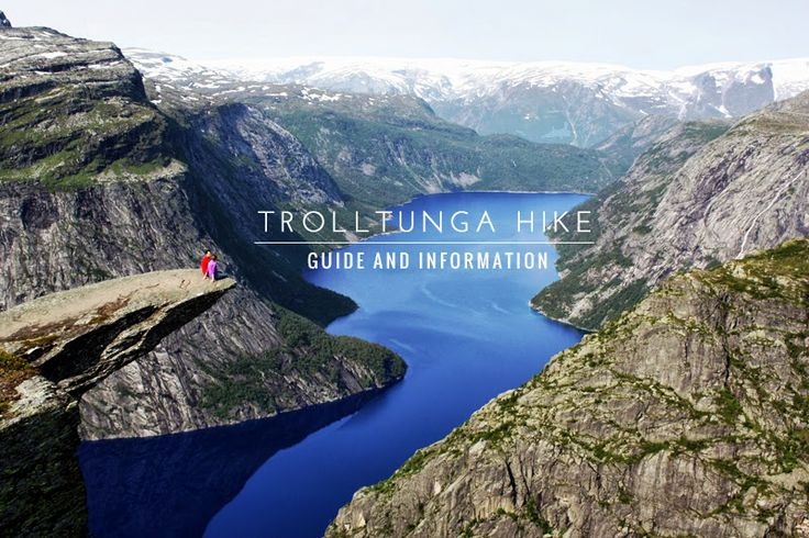 Trolltunga: guide and information