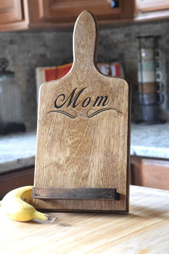 A personalized tablet stand for your favorite tech-savvy chef.