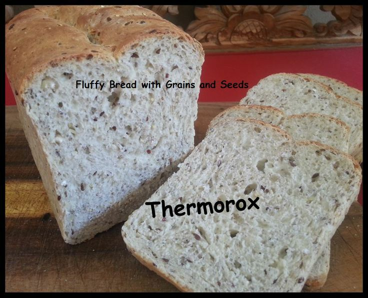 Thermorox Yummy Healthy Bread with Grains made with love from my Thermomix