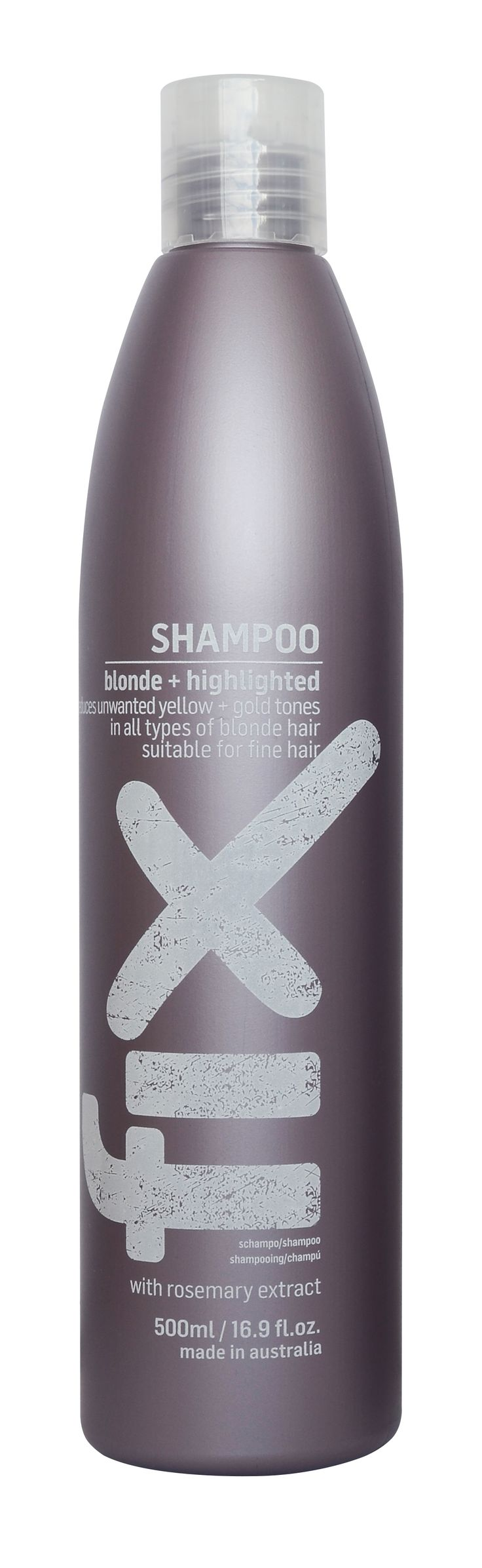 hairjamm, fix, blonde, highlighted, hair, haircare, rosemary extract, reduces yellow gold tones, australian made, JuuceAustralia