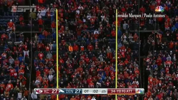 Cairo Santos' game-winning FG? Amazing.   The game-winning FG call in Portugese? Even more amazing.