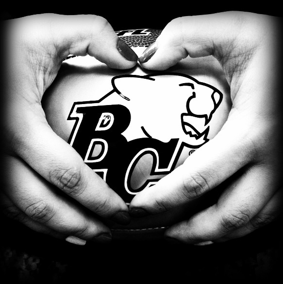 Happy Valentine's Day from your BC Lions Football Club. :)