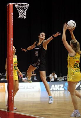 Australians love their sport and the rivalry with NZ is second to none...particularly in the netball! GOAL KEEPER!!WOOP WOOP!!