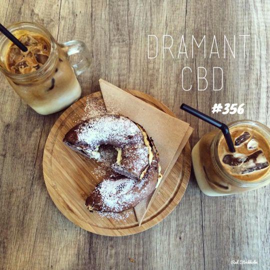 Dramanti CBD. Brisbane. 365 coffees. 365 cafes. 365 days.