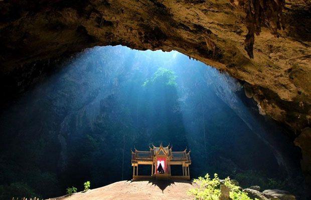 Kuha Karuhas Pavilion inside Phraya Nakhon cave of Thailand's Khao Sam Roi Yot National Park