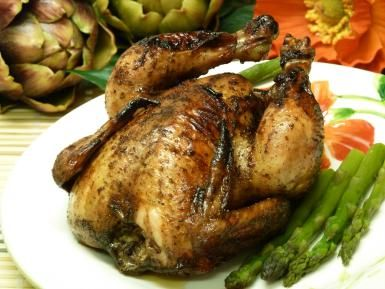Spicy And Sweet Glaze Tempts The Taste Buds On Easy Cornish Hens: Honey Spiced Cornish Game Hens Recipe
