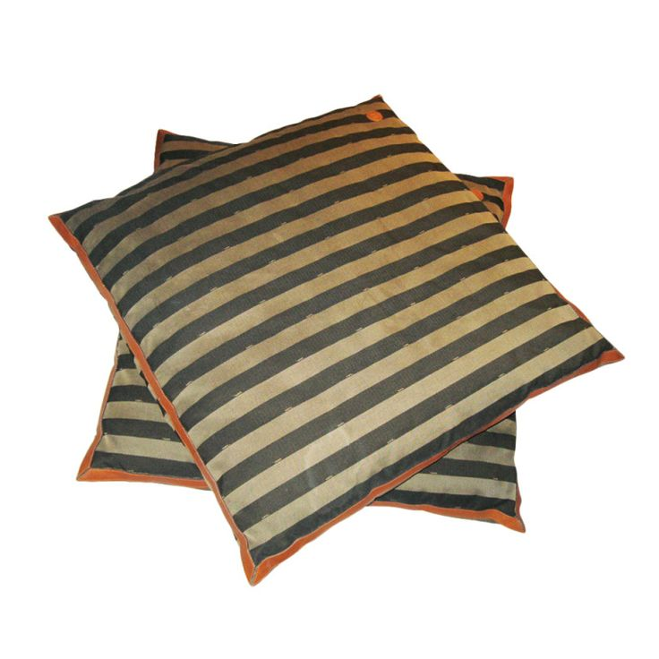 Fendi Oversized Floor Pillows | From a collection of rare vintage pillows and throws at https://www.1stdibs.com/fashion/ephemera/pillows-throws/
