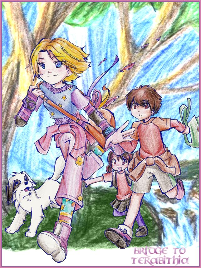 .: Le Secret de Terabithia :. by HikaruJen.deviantart.com on @deviantART