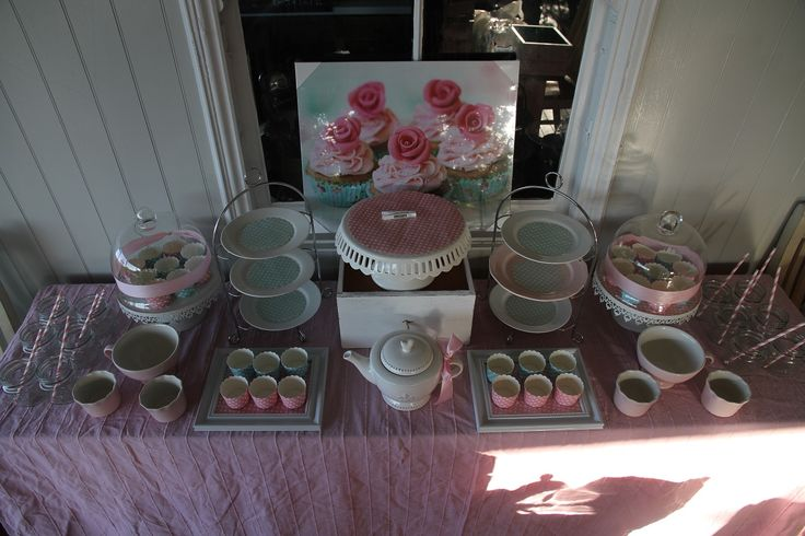 High Tea Set Up Party Kids