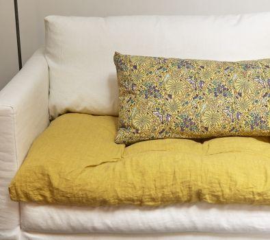 Les 25 meilleures id es de la cat gorie canap caravane sur pinterest coussin caravane lit for Caravane chambre 19 linge maison