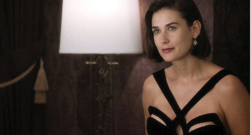 Demi Moore, Indecent Proposal, 1993, Thierry Mugler.
