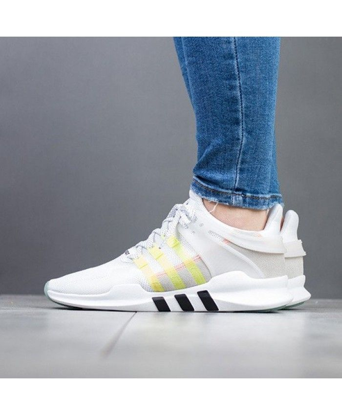 new style 43936 72283 Adidas Equipment EQT Support Adv Running White Yellow ...
