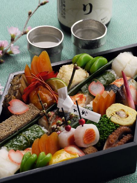 Japanese food / お花見弁当 Hanami bento