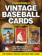 """This is the most comprehensive and respected vintage baseball card price guide on the market--considered to be the """"bible"""" of the hobby. The Standard Catalog of Baseball Cards (2012), 21st Edition, contains thousands of card values covering cards from approximately 5,000 sets released between 1863-1981."""