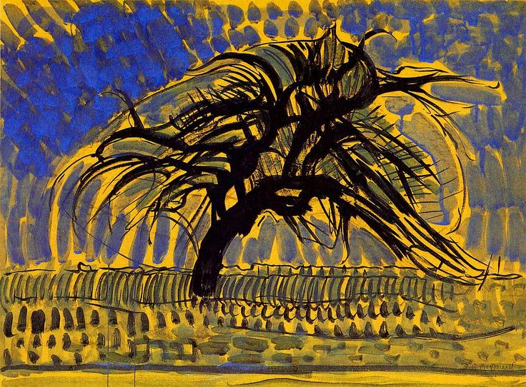 by Piet Mondrian, Dutch modern movement